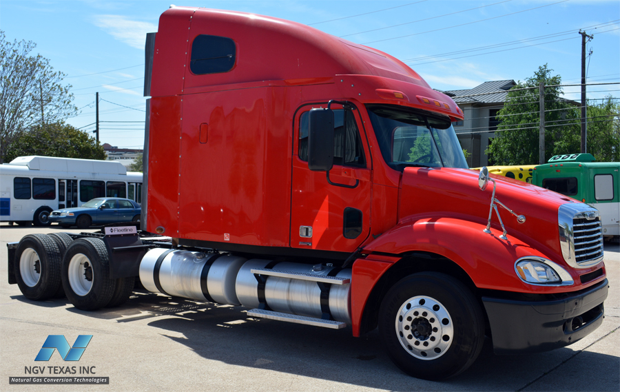 Cng Conversion Kits >> NGV Texas | Freightliner CNG Truck