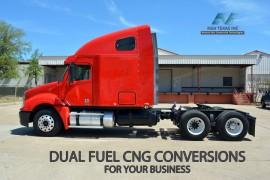 CNG Freightliner Truck