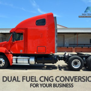 CNG Freightliner Truck