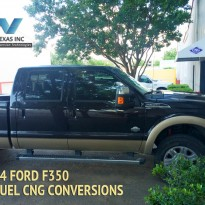 Ford F350 Bifuel Conversion