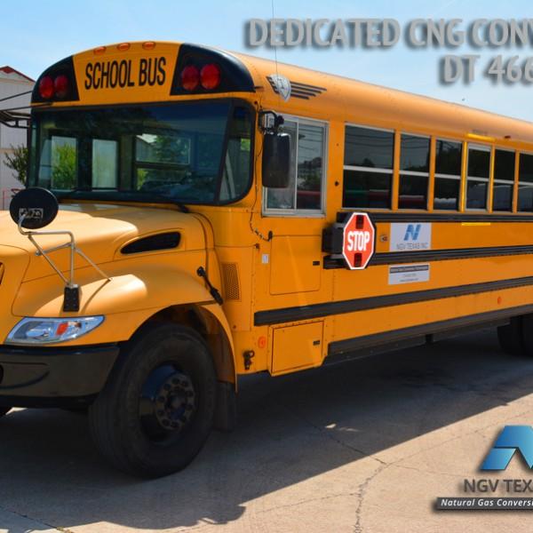 CNG School Bus