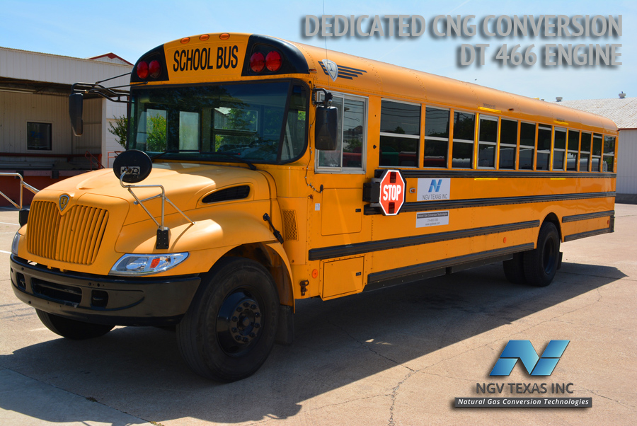 Ngv Texas Cng School Bus Cng Conversion