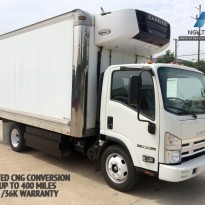 2014  Isuzu with CNG Dedicated Conversion with 52GGE