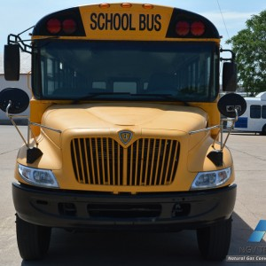 school bus natural gas